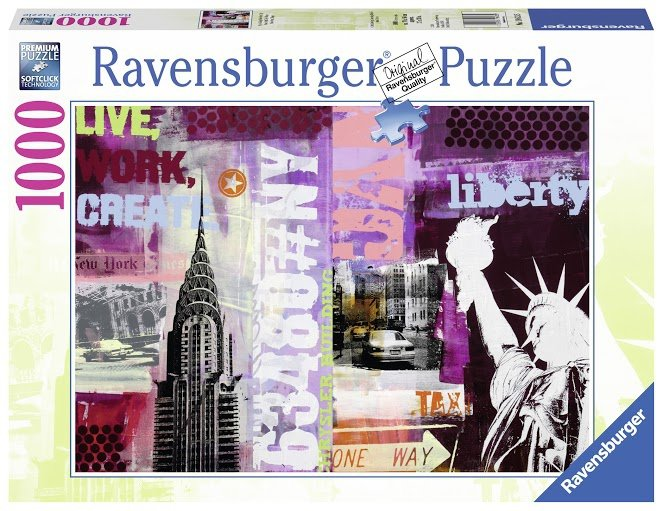 Puzzle 1000 Ravensburger 196135 New York
