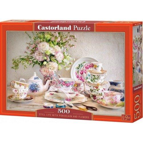 Puzzle 500 Castorland B-53384 Martwa Natura z Porcelaną