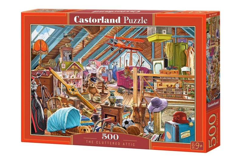 Puzzle 500 Castorland B-53407 Zagracone Poddasze