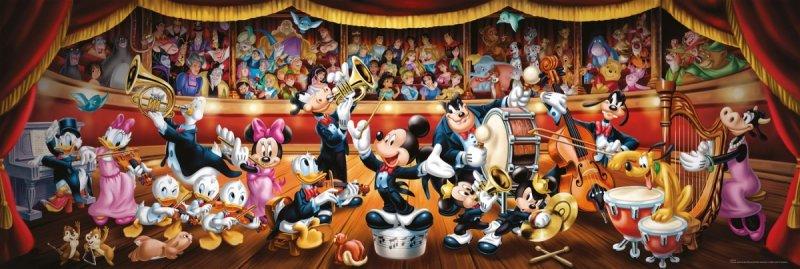 Puzzle 1000 Clementoni 39445 Panorama - Disney - Orkiestra