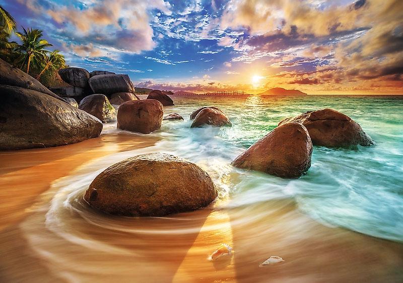 Puzzle 1000 Trefl 10461 Plaża Samudra - Indie