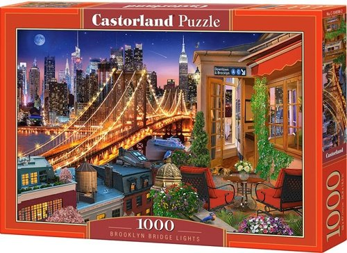 Puzzle 1000 Castorland C-104598 Most Brookliński