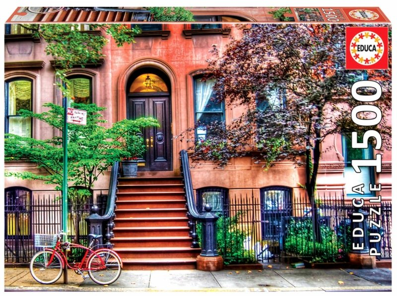 Puzzle 1500 Educa 18502 New York - Greenwich Village