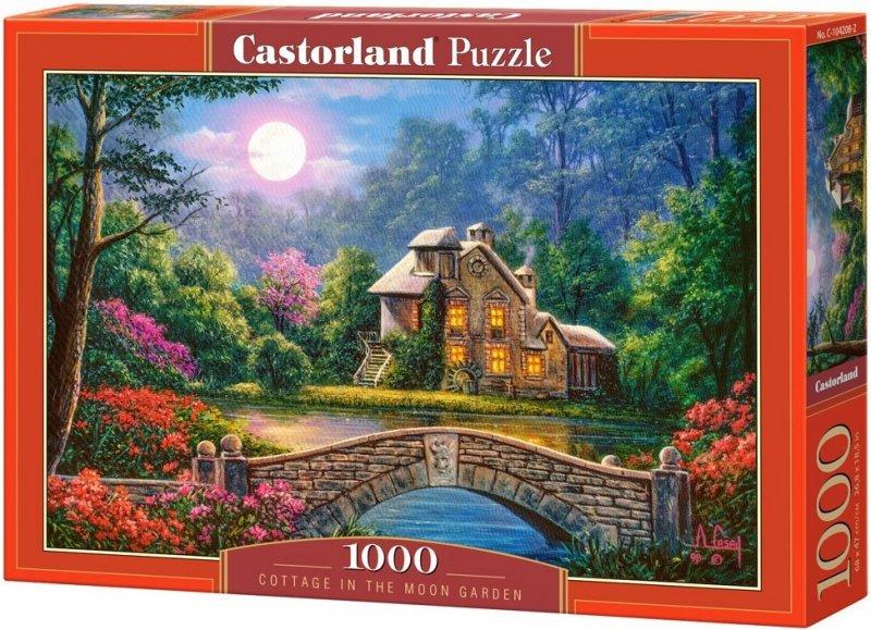 Puzzle 1000 Castorland 104208 Domek w Ogrodzie Księżycowym