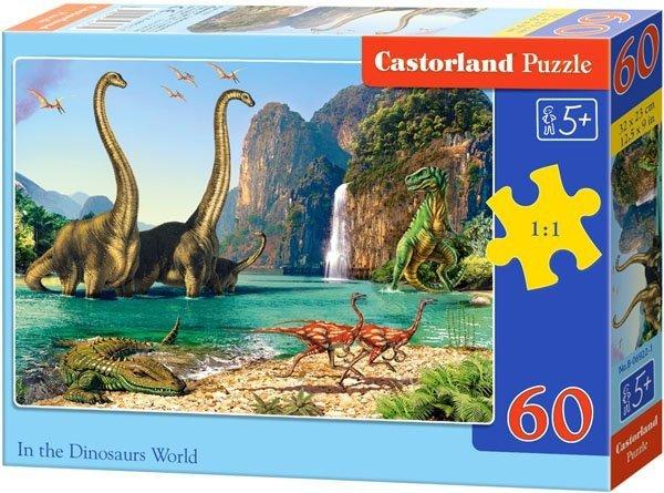Puzzle 60 Castorland B-06922 Dinozaury