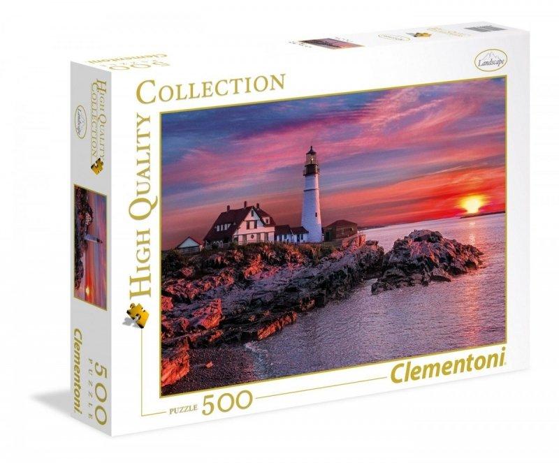 Puzzle 500 Clementoni 35049 Latarnia w Portland