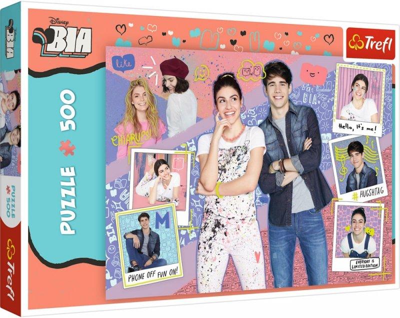 Puzzle 500 Trefl 37374 BIA i Przyjaciele