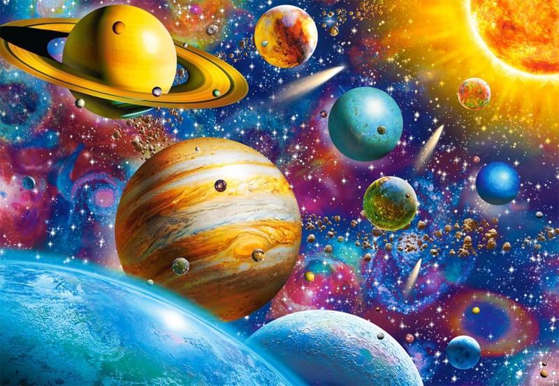 Puzzle 1000 Castorland 104314 Układ Słoneczny