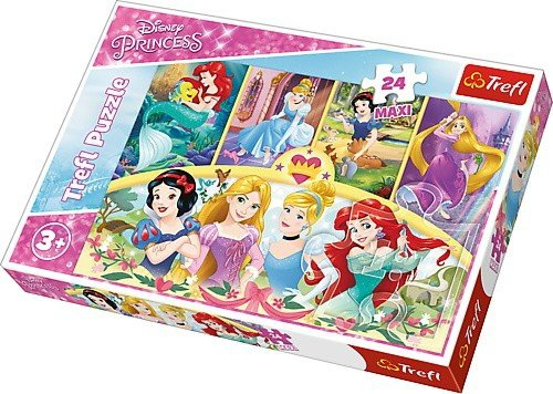Puzzle 24 Maxi Trefl 14294 Księżniczki Disneya - Magia Wspomnień