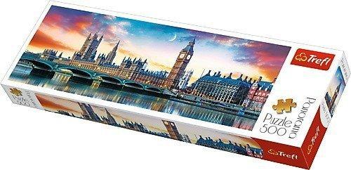 Puzzle 500 Trefl 29507 Panorama - Big Ben i Pałac Westminsterski