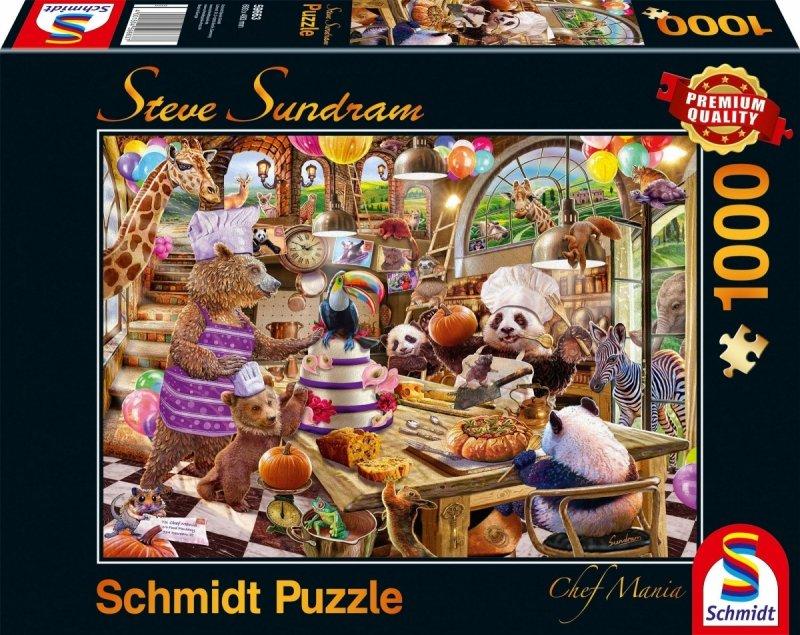 Schmidt 59663 Steve Sundram - Zwierzaki w Kuchni - Chef Mania