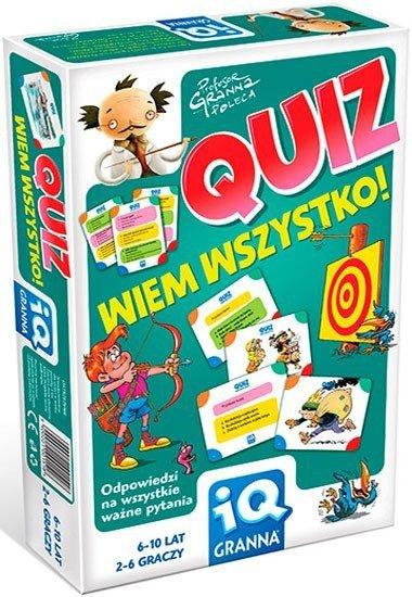 Gra Edukacyjna - Granna - Quiz - Wiem Wszystko