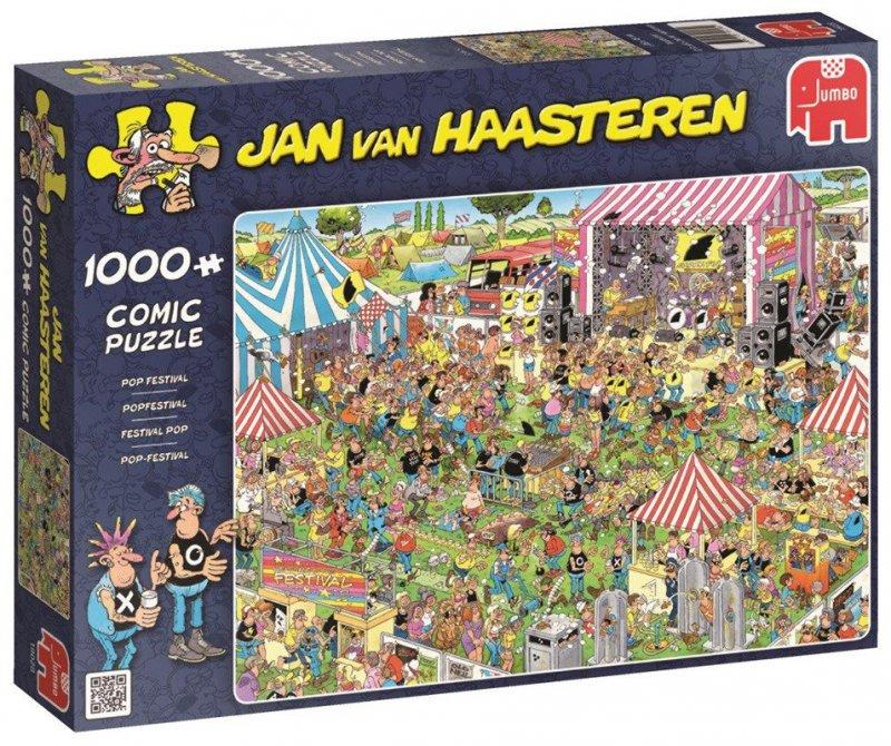 Puzzle 1000 Jumbo 19028 Jan van Haasteren - Festiwal Muzyczny