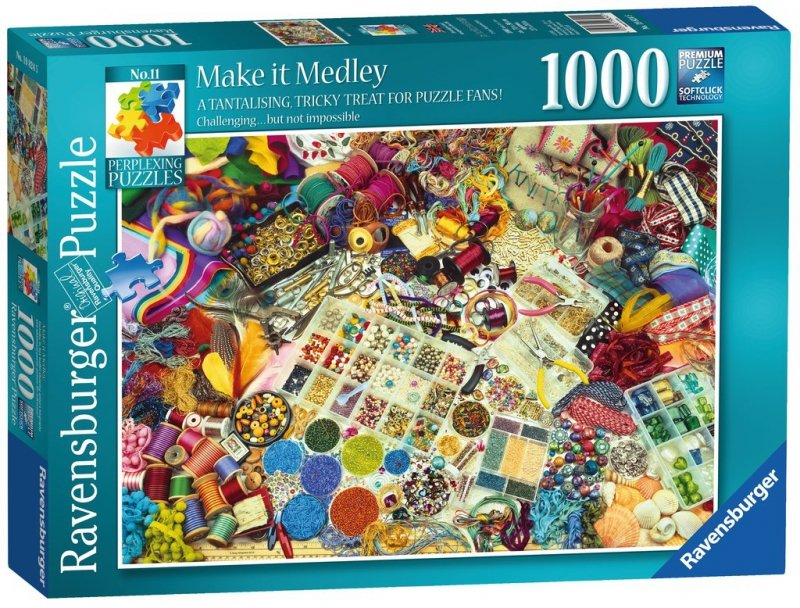 Puzzle 1000 Ravensburger 198245 Zrób to Sam