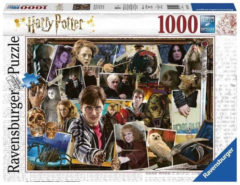 Puzzle 1000 Ravensburger 151707 Harry Potter - Voldemort