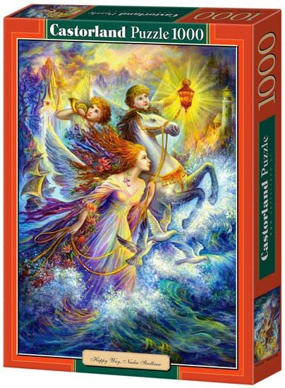 Puzzle 1000 Castorland C-102693 Happy Way - Nadia Strelkina