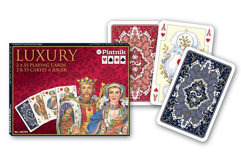 Karty do Gry Lux Piatnik 2 Talie 2167 Luxury