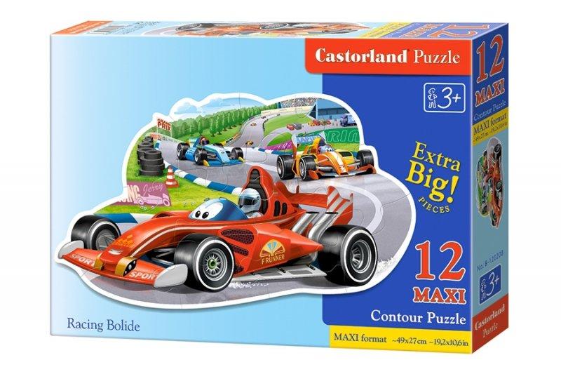 Puzzle 12 Maxi Castorland B-120208 Wyścig Bolidów