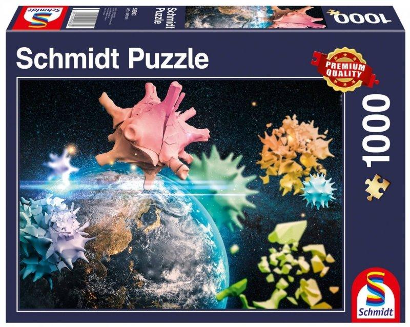 Puzzle 1000 Schmidt 58963 Planeta Ziemia 2020