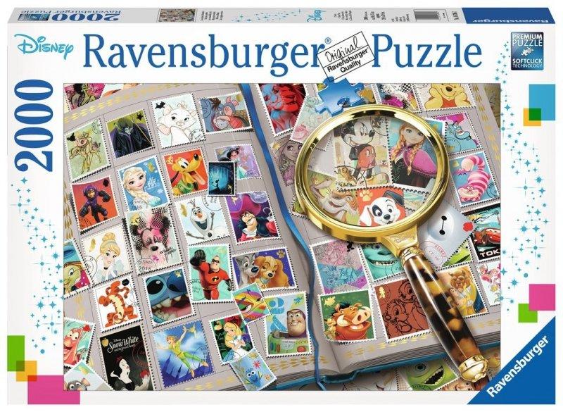 Puzzle 2000 Ravensburger 167067 Ulubione Znaczki