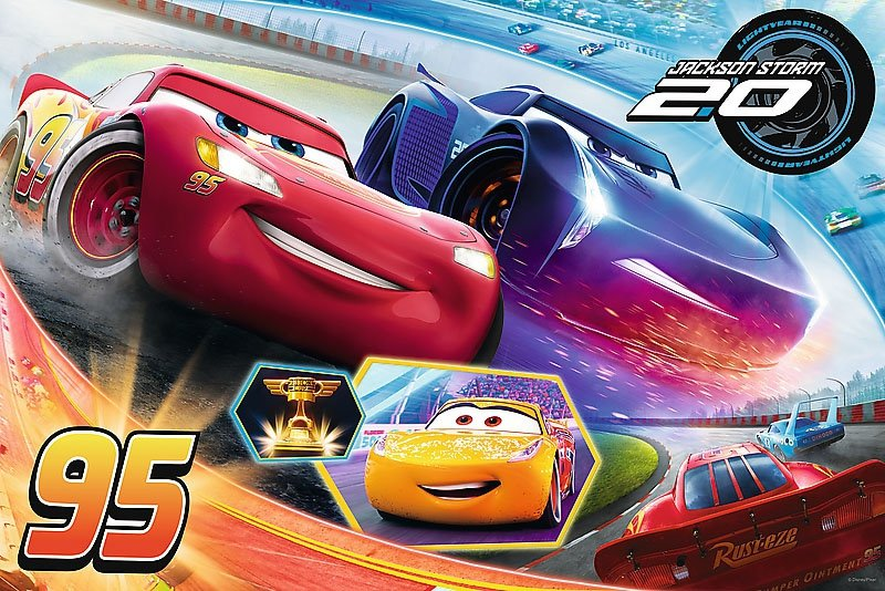 Puzzle 24 Maxi Trefl 14264 Auta - Cars - Niech Wygra Najlepszy