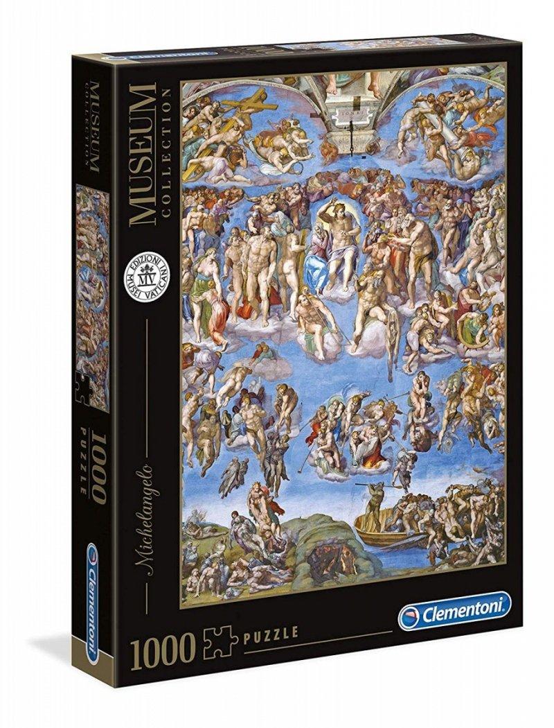 Puzzle 1000 Clementoni 39497 Sąd Ostateczny