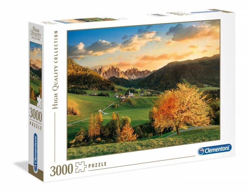 Puzzle 3000 Clementoni 33545 Alpy