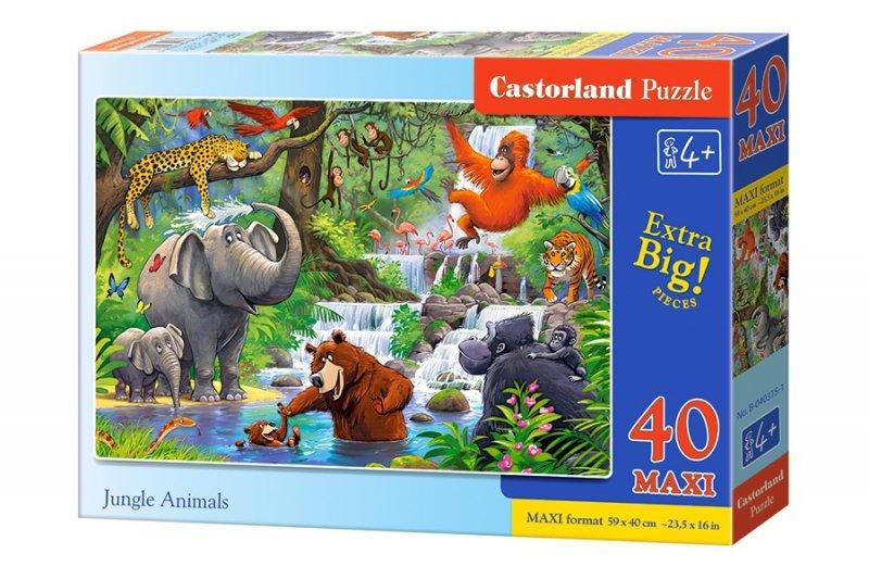 Puzzle 40 Maxi Castorland B-040315 Dzikie Zwierzęta