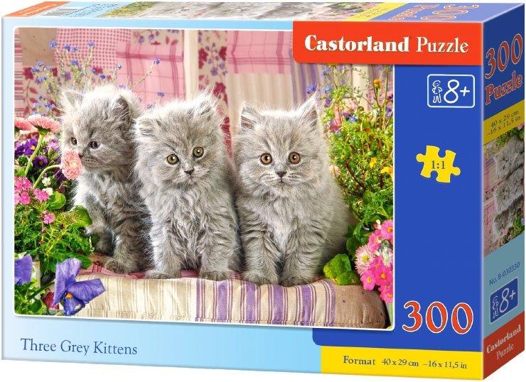 Puzzle 300 Castorland B-030330 Trzy Kotki