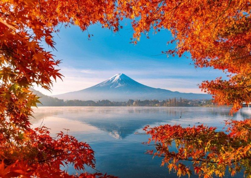 Puzzle 1000 Schmidt 58946 Góra Fudżi  - Japonia