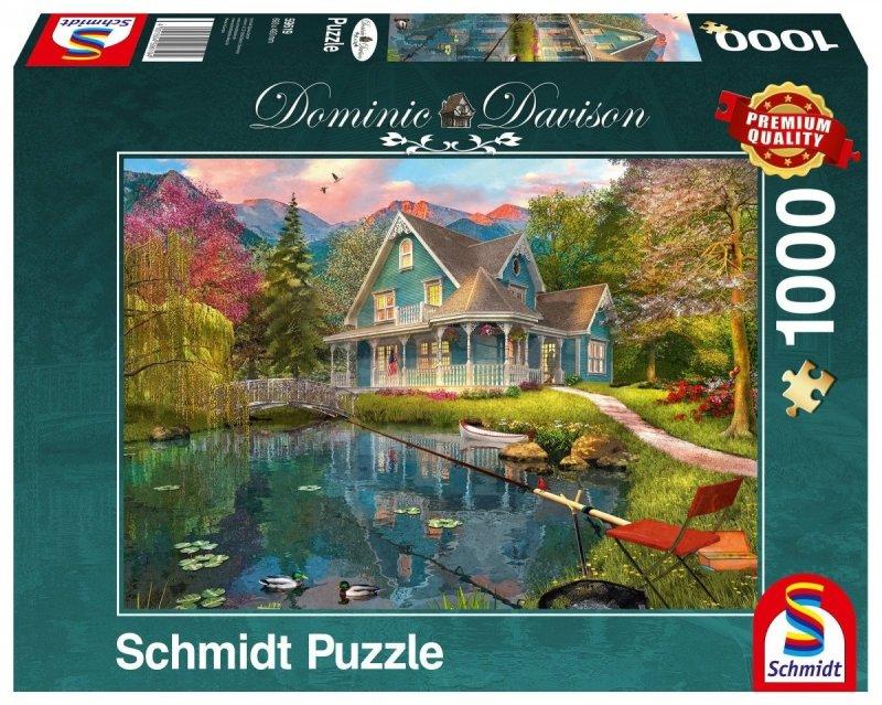 Puzzle 1000 Schmidt 59619 Dominic Davison -  Dom Spokojnej Starości