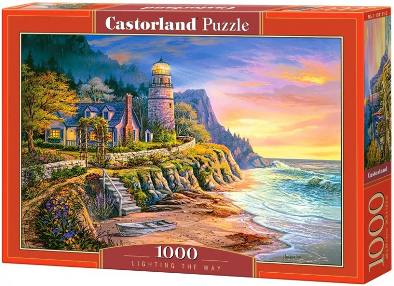 Puzzle 1000 Castorland 104161 Latarnia Morska