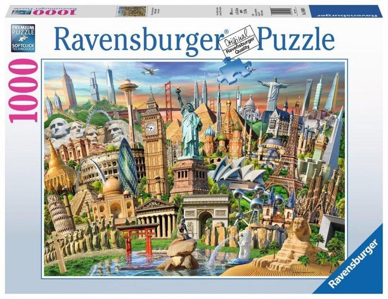 Puzzle 1000 Ravensburger 198900 Światowe Zabytki