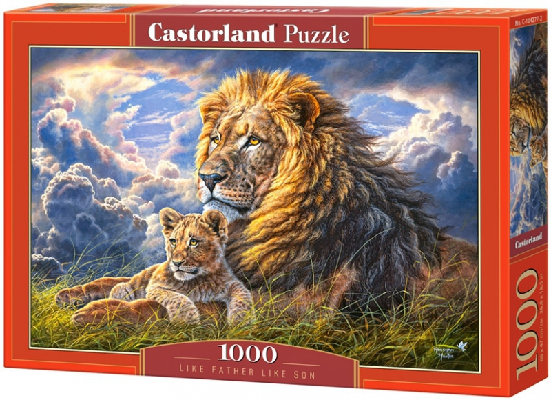 Puzzle 1000 Castorland 104277 Lwy