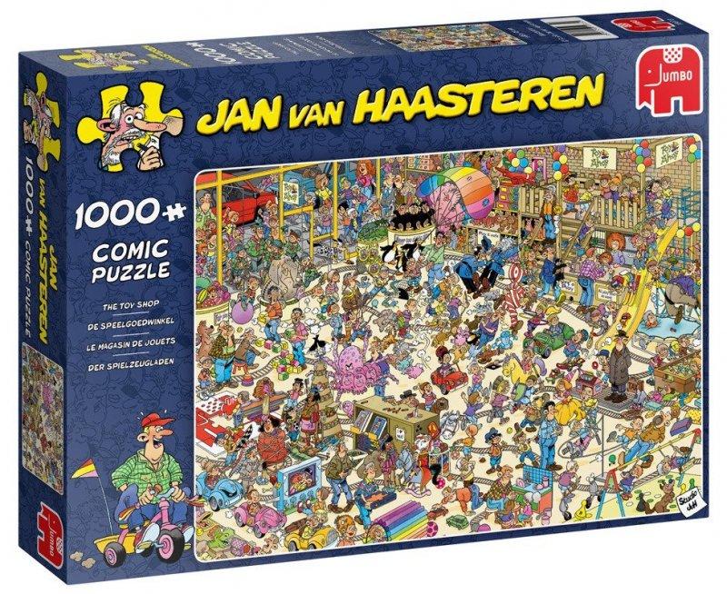 Puzzle 1000 Jumbo 19073 Jan van Haasteren - Sklep z Zabawkami