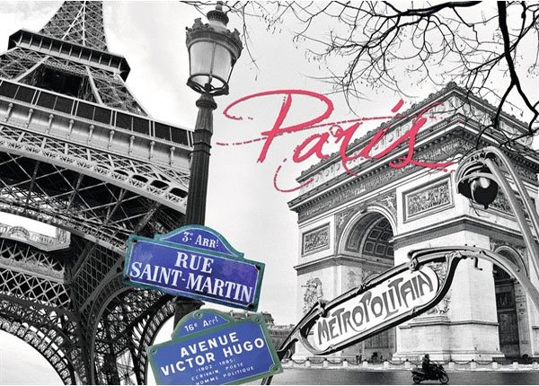 Puzzle 1500 Ravensburger 162963 Paryż - Moja Miłość