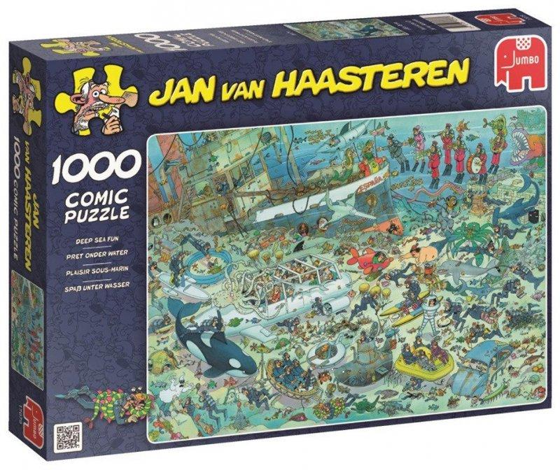 Puzzle 1000 Jumbo 17079 Podwodne Życie
