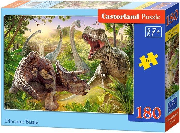 Puzzle 180 Castorland B-018413 Dinozaury