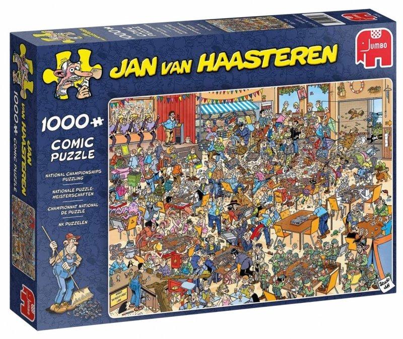 Puzzle 1000 Jumbo 19090 Jan Van Haasteren - Mistrzostwa w Układaniu Puzzli