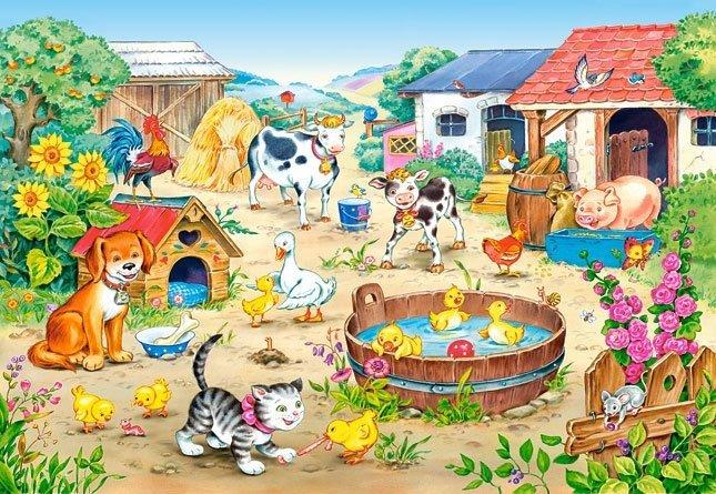 Puzzle 60 Castorland B-06663 Farma