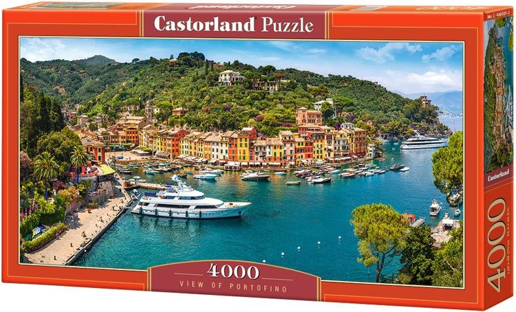 Puzzle 4000 Castorland C-400201 Widok z Portofino
