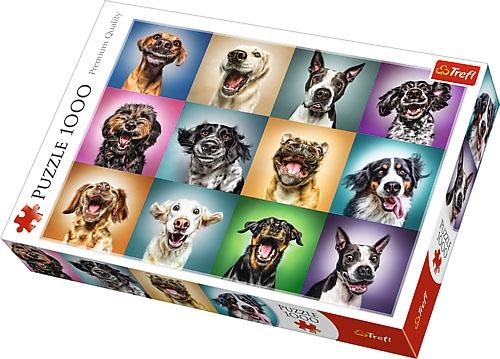 Puzzle 1000 Trefl 10462 Zabawne Psie Portrety
