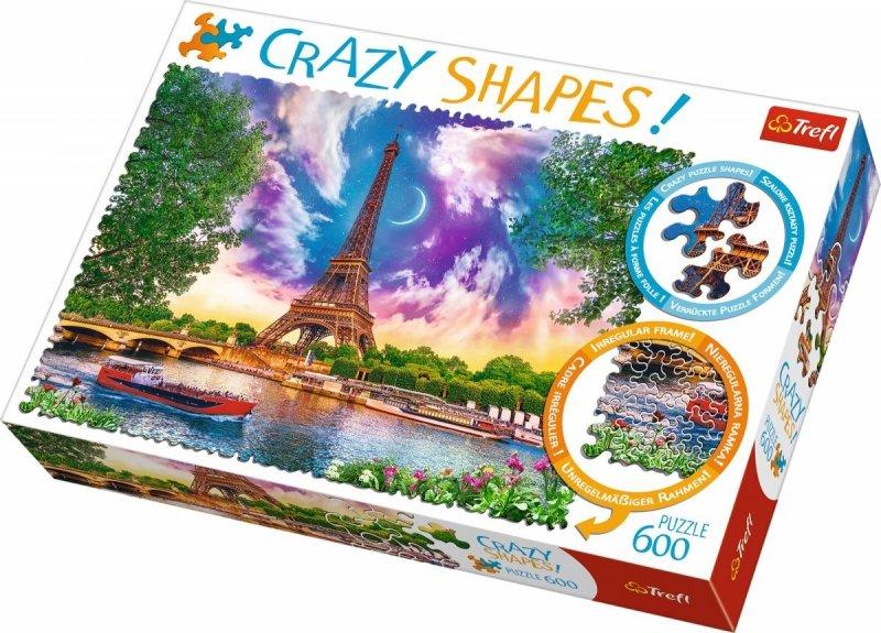 Puzzle 600 Trefl 11115 Crazy Shapes -  Niebo nad Paryżem