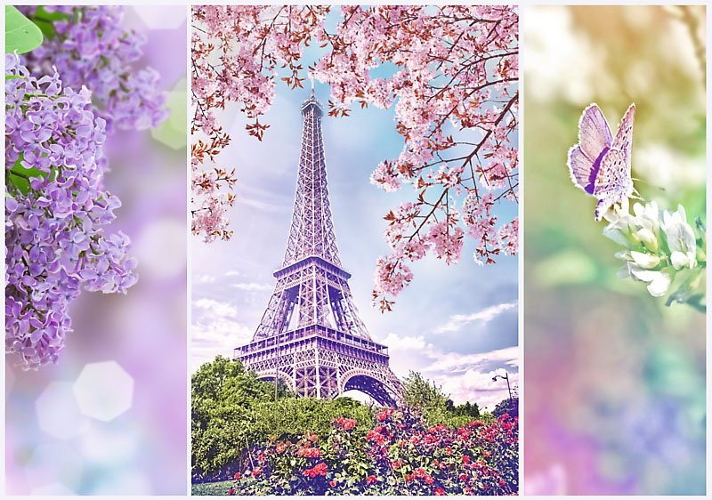 Puzzle 1000 Trefl 10409 Wiosna w Paryżu - Romantic