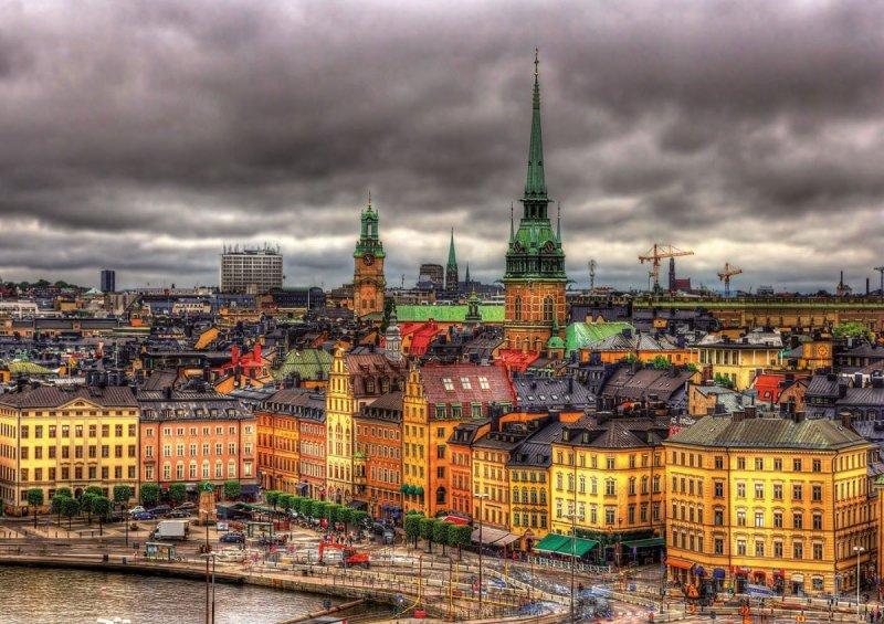 Puzzle 1000 Educa 17664 Szwecja - Views of Stockholm