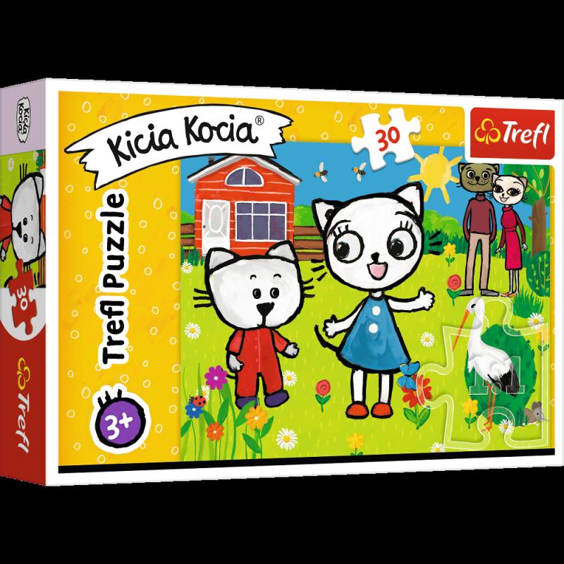 Puzzle 30 Trefl 18264 Kicia Kocia