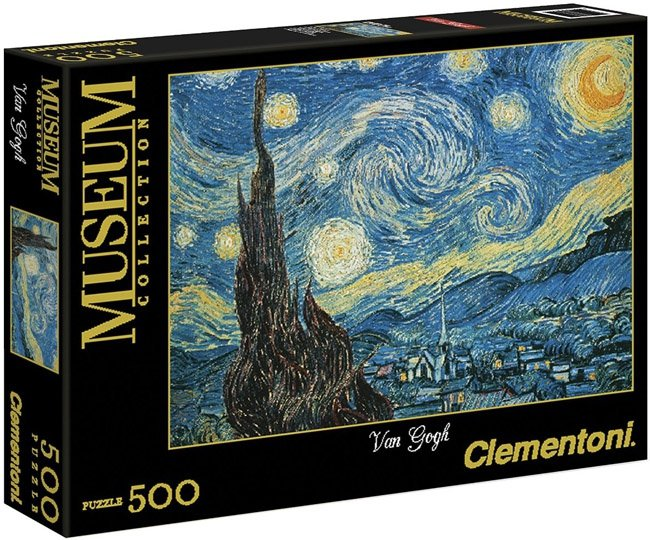 Puzzle 500 Clementoni 30314 Van Gogh - Gwiaździsta Noc