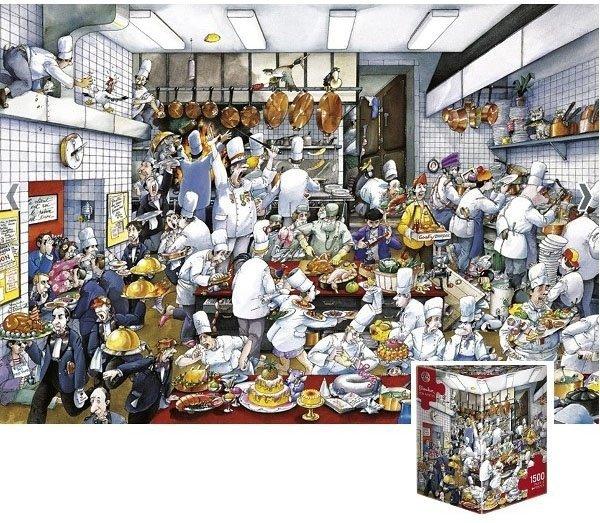 Puzzle 1500 Heye 29130 Bon Appetit - Blachon