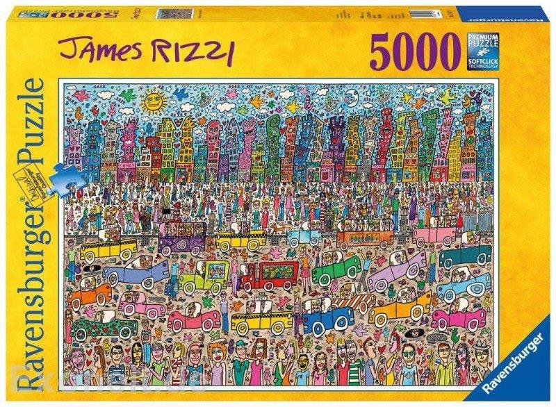 Puzzle 5000 Ravensburger 174270 Zatłoczone Miasto