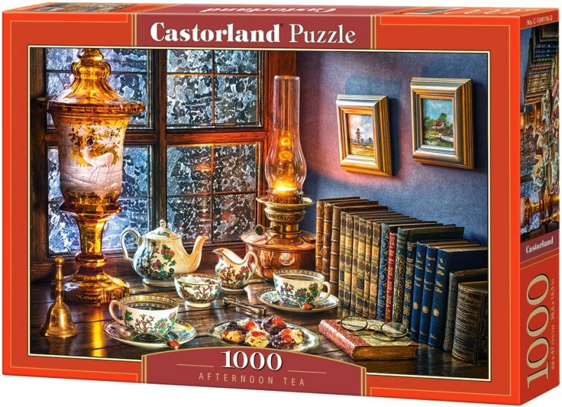 Puzzle 1000 Castorland 104116 Popołudniowa Herbata